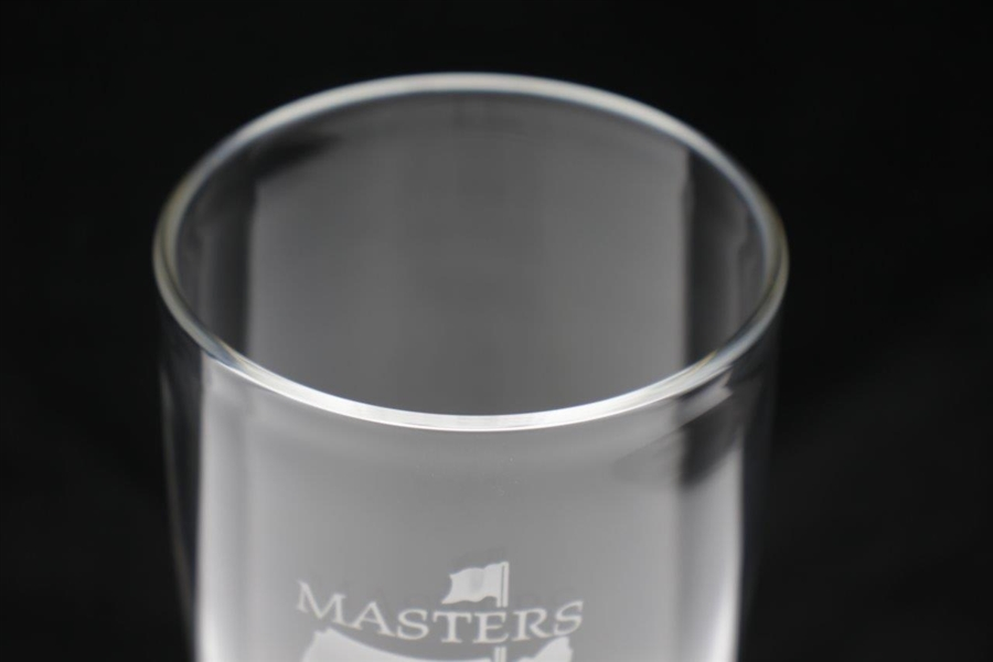 1995 Masters Awarded Eagle Hole #13 Crystal Highball Glass - Mark Calcavecchia