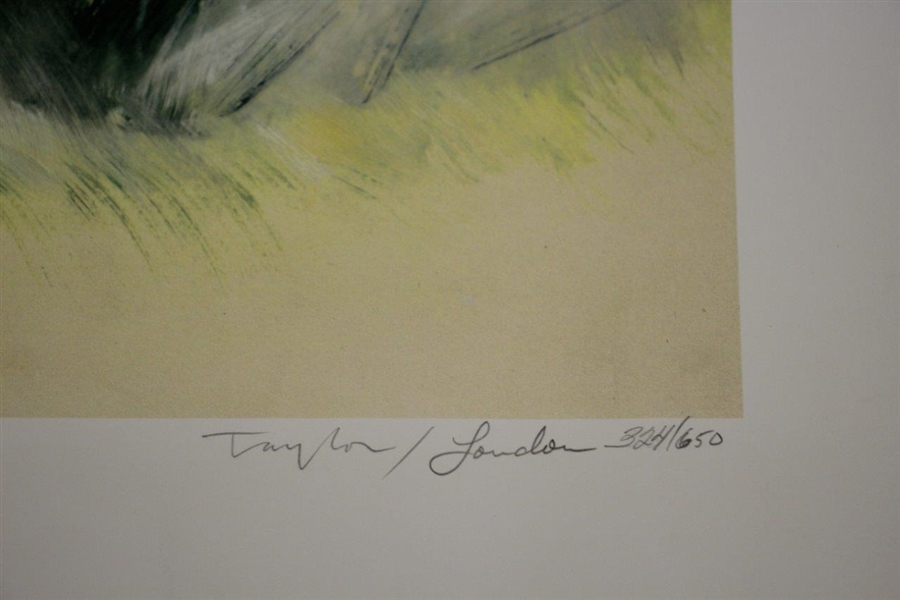 Bobby Jones Slam Second Leg at Hoylake Deluxe Offset Lithograph 324/650 by Douglas B London
