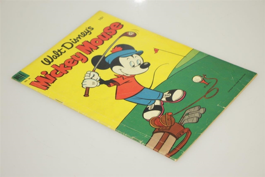 1953 Walt Disney's Mickey Mouse Dell Comic No. 30 with Golfing Mickey Cover