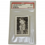 1932 Walter Hagen Bulgaria Sport Graded PSA NM 7