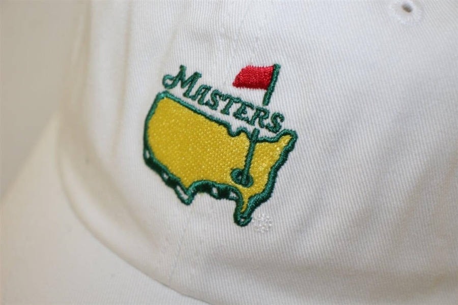Billy Payne Signed Masters Undated Logo White Hat - Former ANGC Chairman JSA #M49282