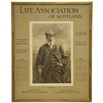 1908 Tom Morris Life Assoc of Scotland Banks & Co Edinburgh w/ Seldom Seen Calendar