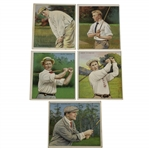 Mecca Cigarettes Champion Golfers Tobacco Cards
