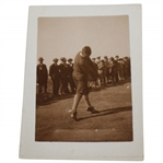 Bobby Jones Mid Swing Original Photo Dated March 21, 1921