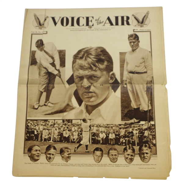 1930 'Voice of the Air' Bobby Jones Publication