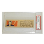 1940 Ralph Guldahl Wheaties JSA Graded Card