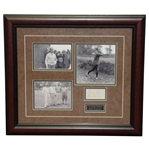 Walter Hagen & Gene Sarazen Signed Photo Framed Presentation JSA ALOA