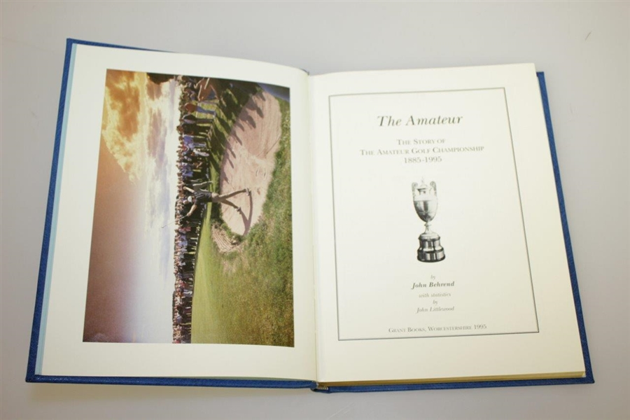 'The Amateur' 1885-1995 Signed Ed #42 of 75 by Author & 5-Time Champ Michael Bonallack