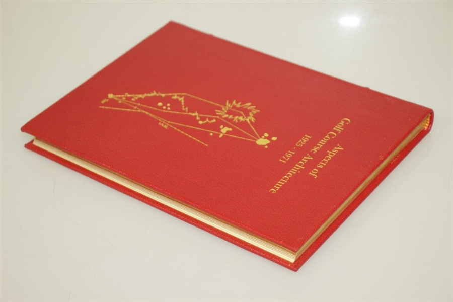 Aspects of Golf Architecture II 1925-1971 Signed Limited Ed #66 of 75 by Hawtree & Grant