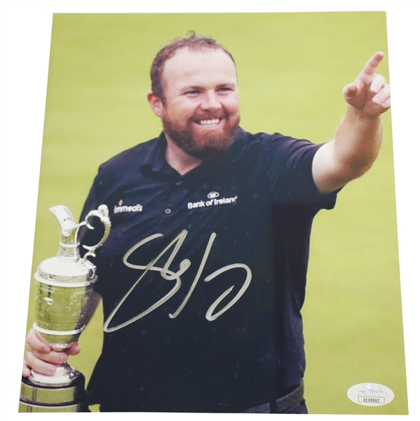 Shane Lowry Signed 2019 Open Champ at Royal Portrush 8x10 Photo JSA #EE39062