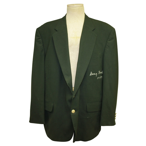 Doug Ford Signed & Inscribed 1957 Green Jacket JSA ALOA