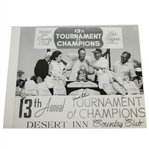 Arnold Palmer signed 1965 Tournament of Champions 16x20 Photo JSA ALOA