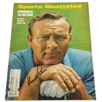 Arnold Palmer Signed 1969 Sports Illustrated Celebrating his 40th Birthday JSA ALOA