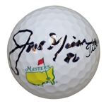 "Jack Nicklaus Signed Masters Logo Titleist Ball w/ Inscription ""86"" JSA ALOA"