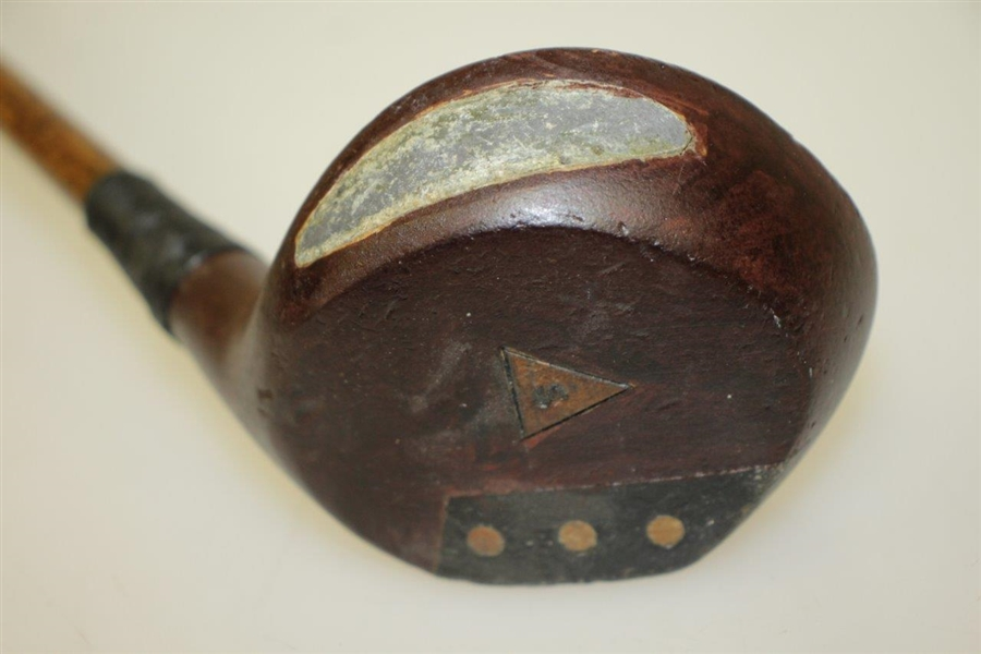 'My Boy 4' Custom Hickory Driver Stamped on Head - Child's Club