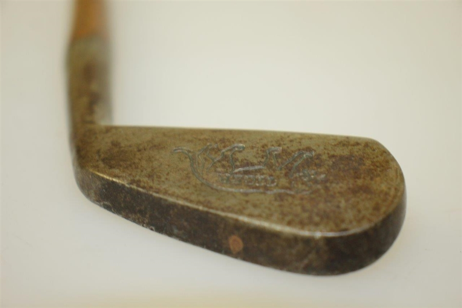 Vintage 'Tiger' Junior Putter w/ Illustration Stamp