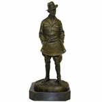 Golf Course Architect A.W. Tillinghast Bronze Statue by Ron Tunison