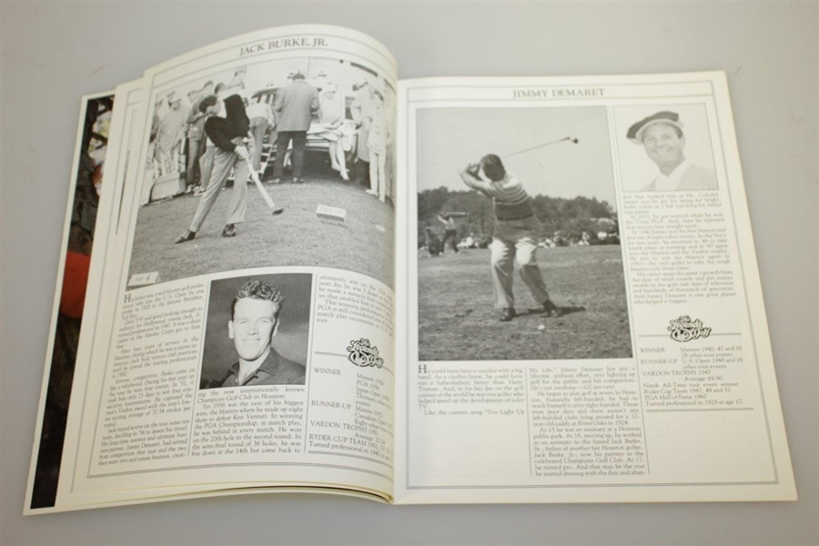 1978 Legends of Golf Tournament Program with Grounds Badge & Five Day Tickets