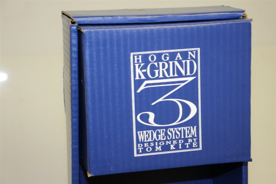 Ben Hogan Ltd Ed K-Grind Three Wedge Club System Designed by Tom Kite in Original Box