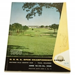1958 US Open at Southern Hills Official Program - Tommy Bolt Winner