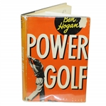 Ben Hogan Signed 1948 Power Golf Book JSA ALOA