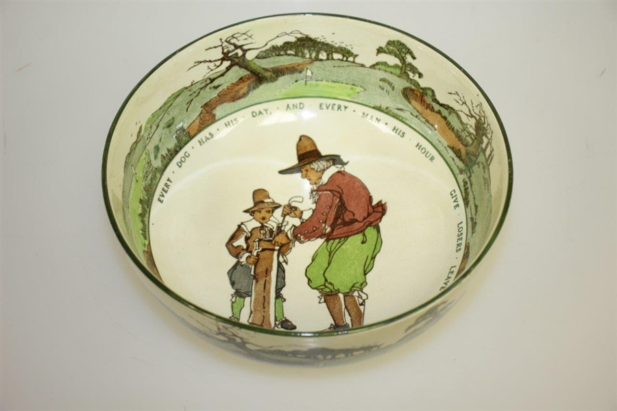 Royal Doulton 'Every Dog Has His Day...' Large Bowl - Great Condition