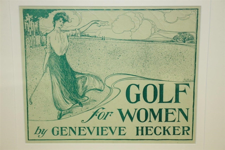 Golf for Women by Genevieve Hecker Promotional Framed Poster