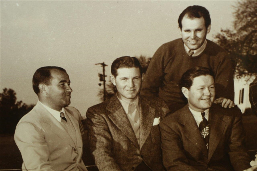 Masters Winners Sarazen, Smith, Nelson, Demaret & Guldahl Black & White Photo