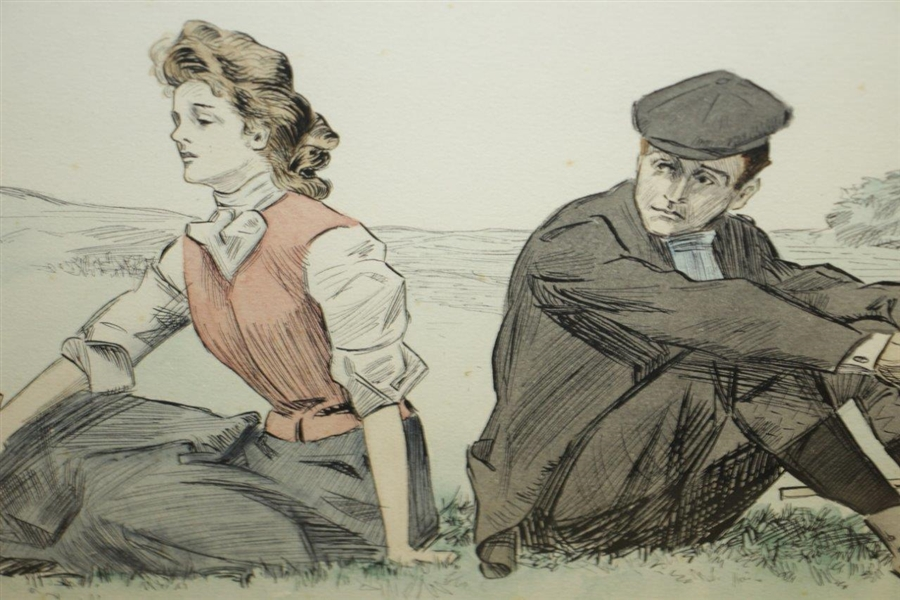 'A Little Incident' Print by C.D. Gibson by M. Pearce