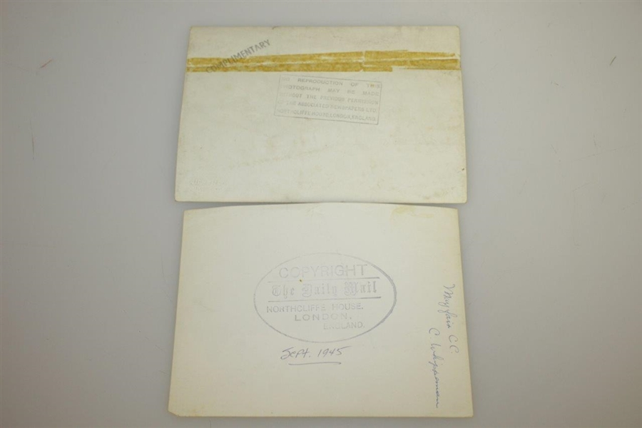 1945 PGA 'Daily Mail' Golf Tournament at St Andrews, Fife Competitor Ticket, Photos & Program