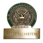 Mark Calcavecchias 2006 US Open at Winged Foot Contestant Badge