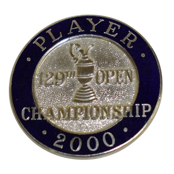 Mark Calcavecchia's 2000 OPEN Championship at St. Andrews Contestant Badge