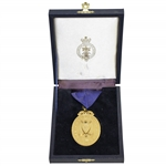 Gold 1872 OPEN Golf Champion Medal to Mark Calcavecchia - Past Champions Gift @ St. Andrews 2000