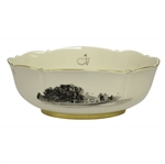 Augusta National GC Pickard Porcelain Bowl - 2014 Masters Gift - Mark Calcavecchia Collection