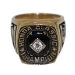 Mark Calcavecchias Honda Classic  2 Time Multiple Winner Awarded Gold & Diamond Ring