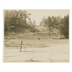 Early 1930s Augusta National Golf Club Original Photo of Pine Tree w/ Architects