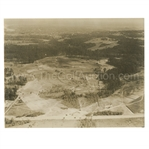 Early 1930s Augusta National Golf Club Aerial Original Photo of 13th & 14th Fairways