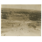 Early 1930s Augusta National Golf Club Original Photo of Grounds Aerial Shot