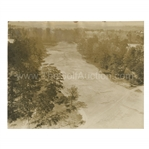 Early 1930s Augusta National Golf Club Original Photo of 11th Fairway