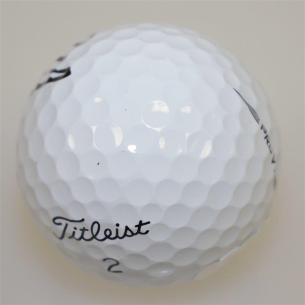 Patrick Reed Signed Masters Logo Golf Ball w/ Score & Year Won Inscriptions JSA #EE39880