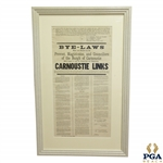 1903 Carnoustie Links Bye-Laws