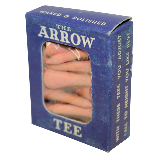 Vintage The Arrow Waxed and Polished Tees in Original Box - Crist Collection