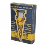 Vintage Rite Hite Waxed & Polished Golf Tees in Original Box - Crist Collection
