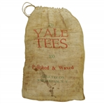 "Vintage ""100 Yale Tees - Polished & Waxed"" Canvas Bag with Tees - Crist Collection"