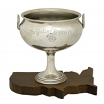 1939 Walter Hagen Cup Trophy on US Base - Ryder Cup Substitute for WWII