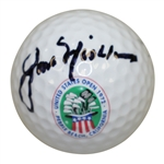 Jack Nicklaus Signed 1972 US Open at Pebble Beach Golf Links Logo Ball JSA FULL #Z70597