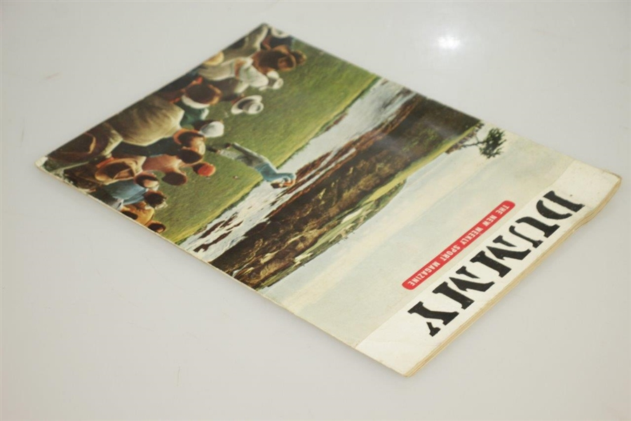 April 1954 Pre-Sports Illustrated 'Dummy' Issue -Seldom Seen-Appears in Great Golf Collections Book