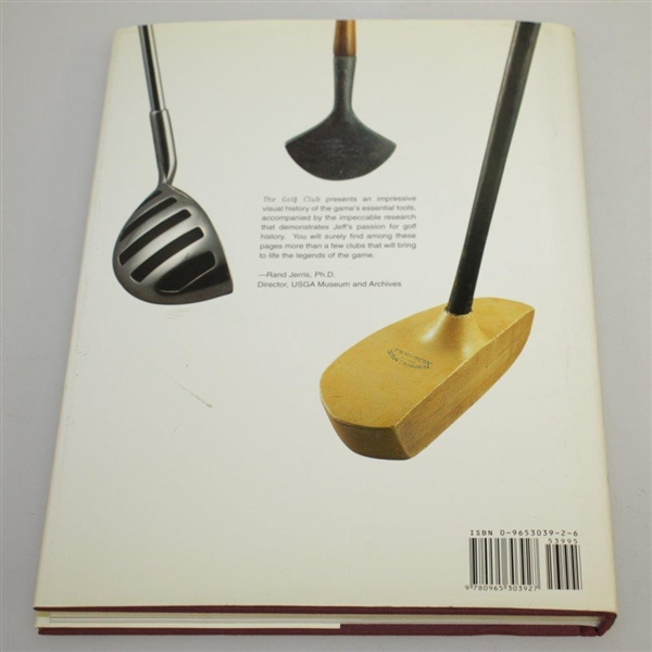 'The Golf Club' Book by Author Jeff Ellis