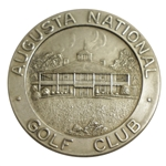 Don Cherrys 1962 Masters Tournament Awarded Sterling Silver Low Amateur Runner-up Medal