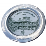 Rod Mundays 1946 Masters Tournament Contestant Plate - First Contestants Gift - Highly Collectible